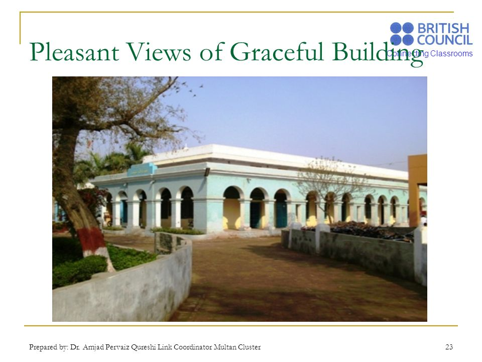 Pleasant Views of Graceful Building