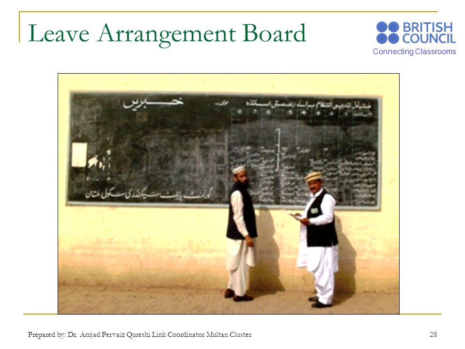 Leave Arrangement Board