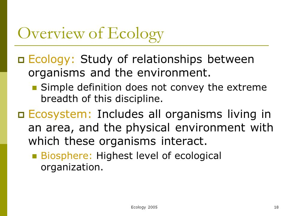 Ecology For Biology Study Guide - actualusa.com