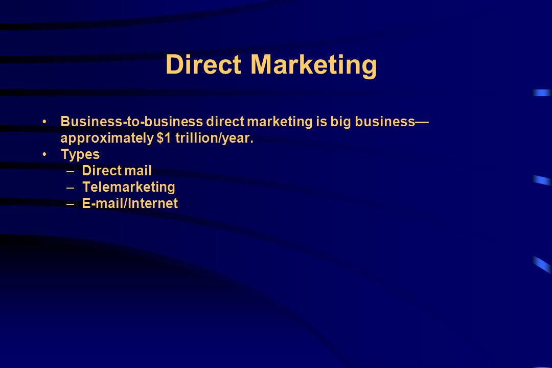 An analysis of the direct mail advertising in online business