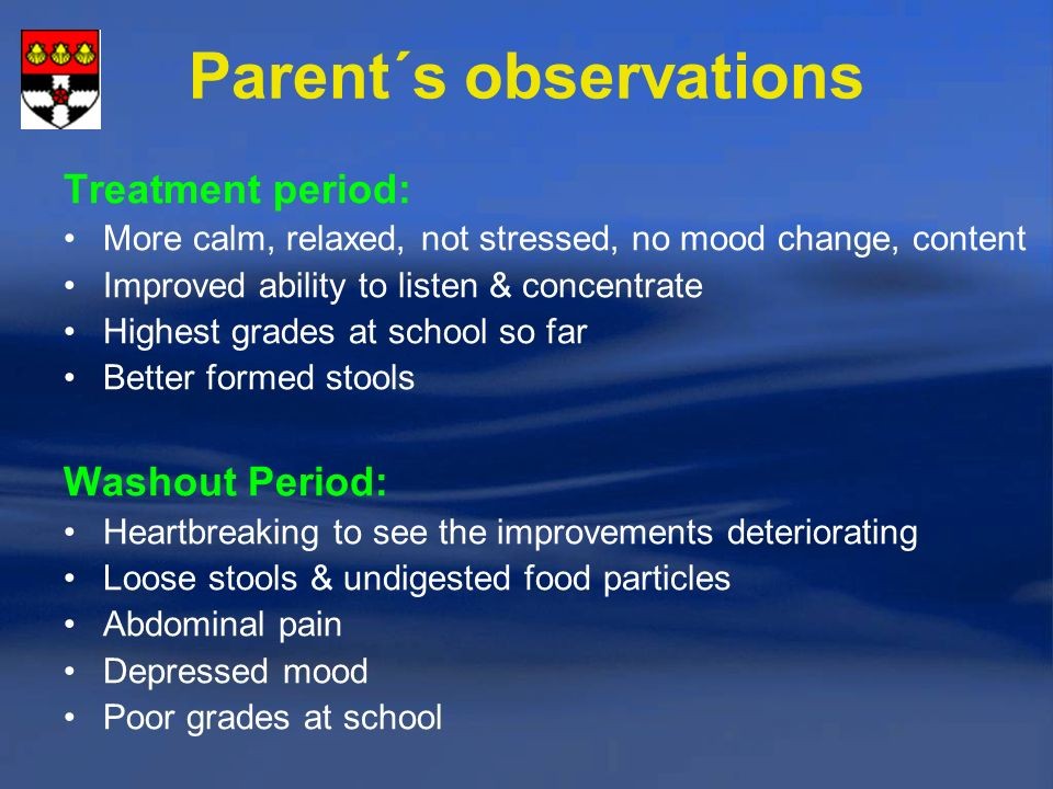 Parent´s observations