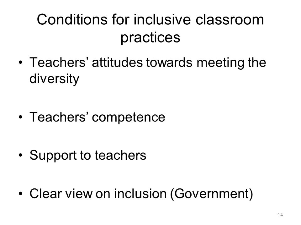 teacher attitudes towards inclusion essay Examining beliefs, attitudes, and understandings as inclusive schools are developed we have found that the most important place to begin planning an inclusion program is with a discussion regarding beliefs of teachers, administrators, and other stakeholders about schooling in general and inclusion in particular.