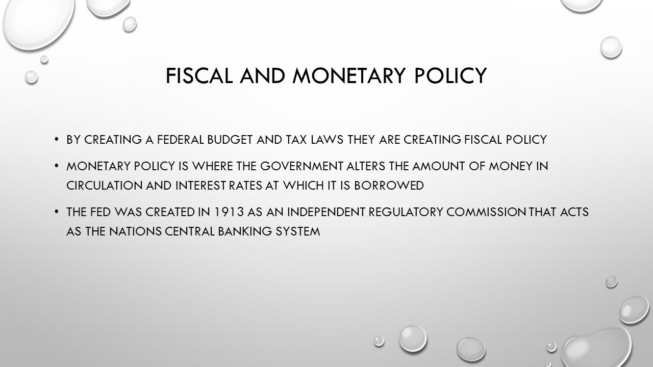 an analysis of the monetary policy meaning Monetary policy if monetary policy is used pre-emptively while we show the net cost calculation is sensitive to assumptions, the primary objective of the analysis is to highlight that more research is needed to better quantify the magnitude of monetary policy on financial vulnerabilities through asset prices and endogenous risk-taking.