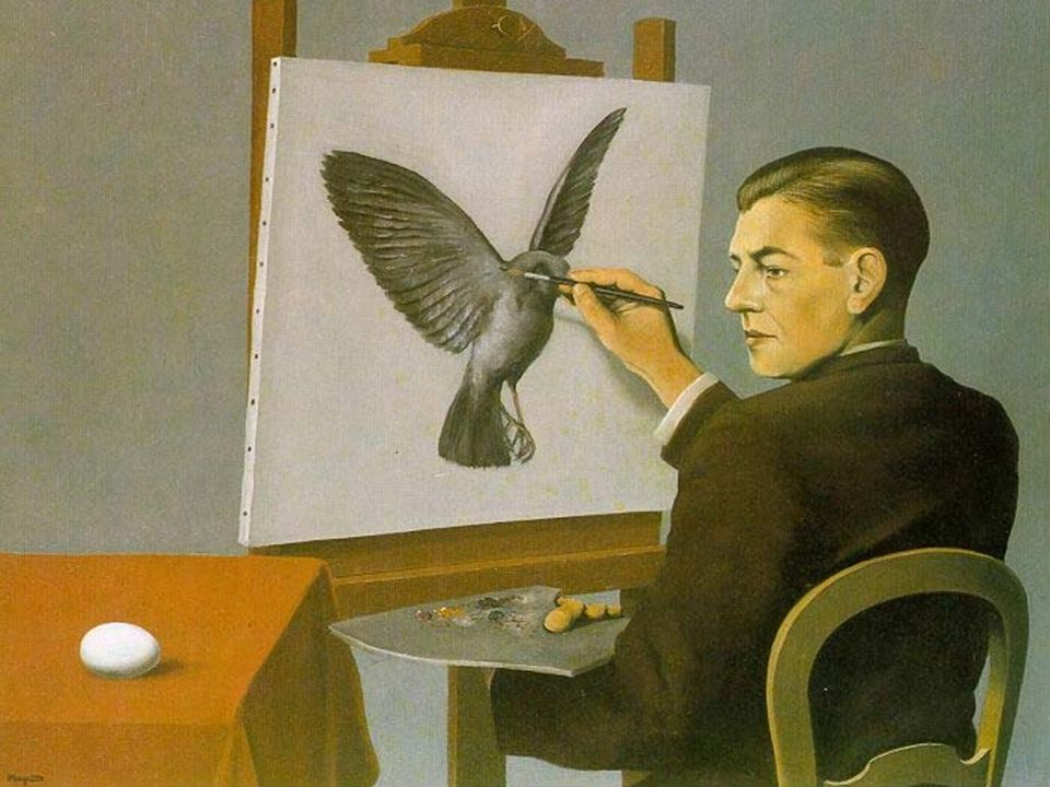 Rene Magritte: Clairvoyance, 1936