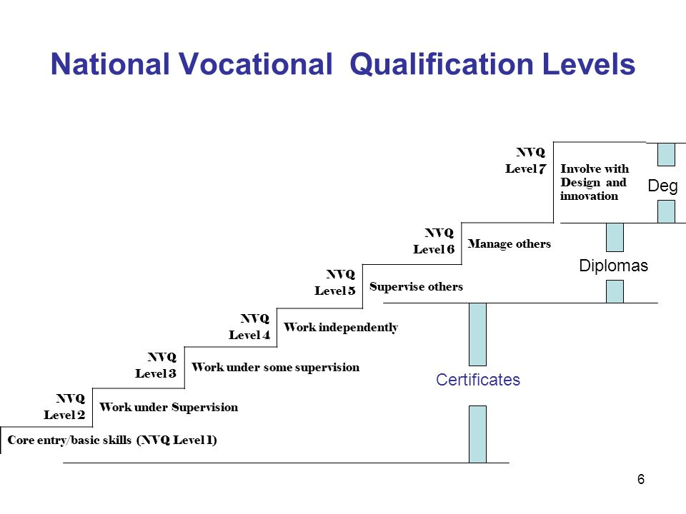 Nvq 5 professional development