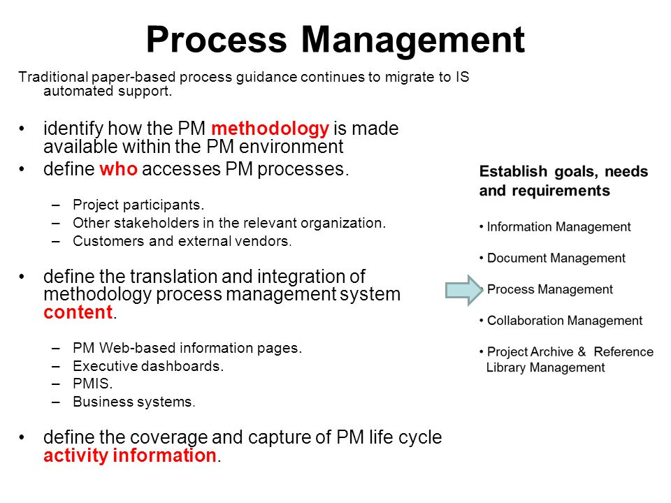 Fundamentals of knowledge project management ppt video for Traditional project management methodology