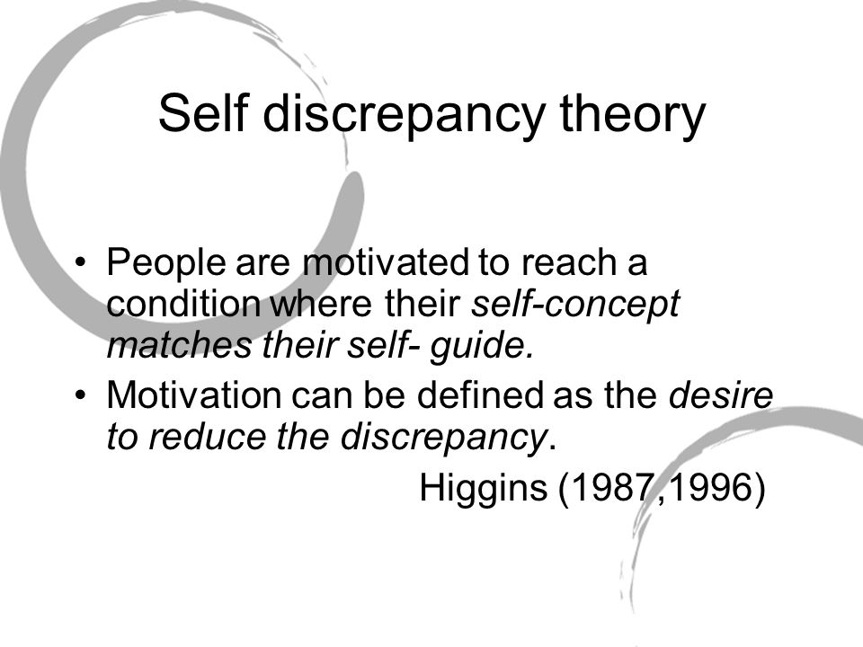 Self discrepancy theory