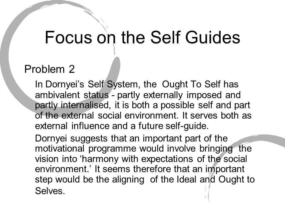 Focus on the Self Guides