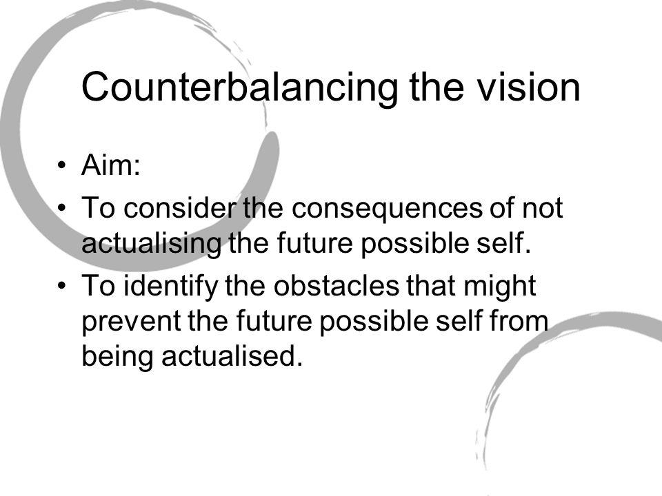 Counterbalancing the vision