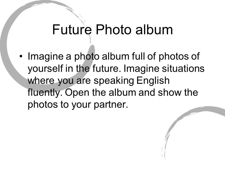 Future Photo album
