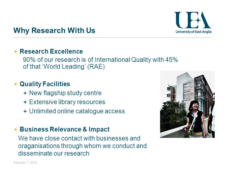 Why Research With Us Research Excellence