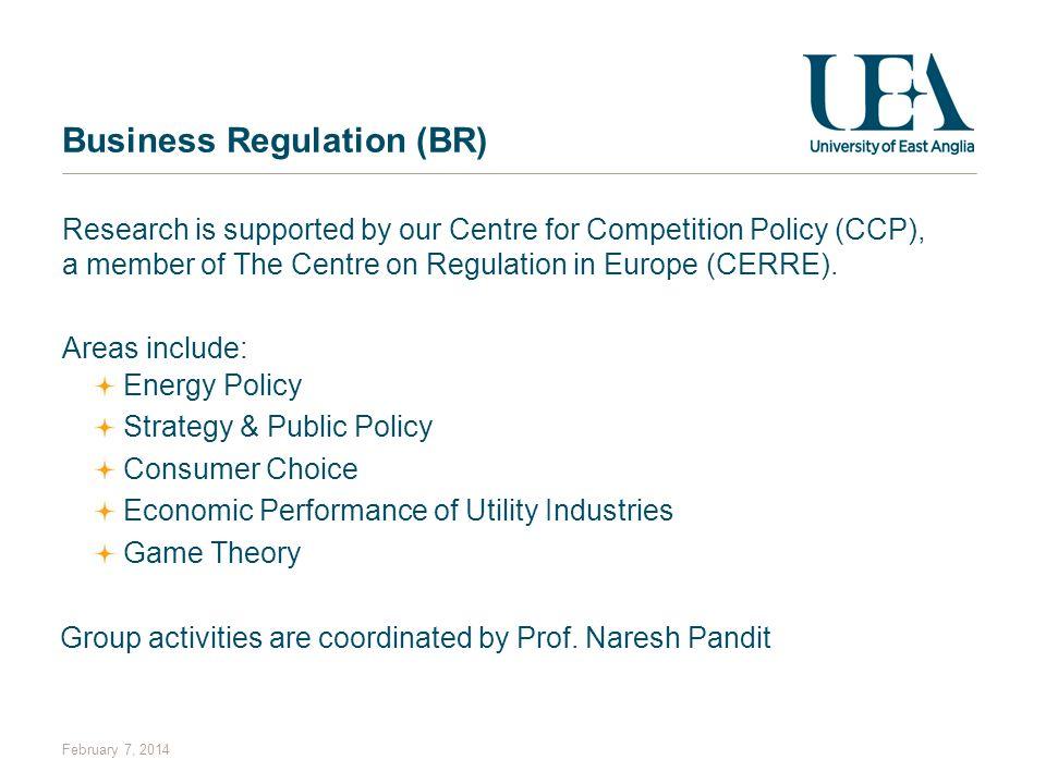 Business Regulation (BR)