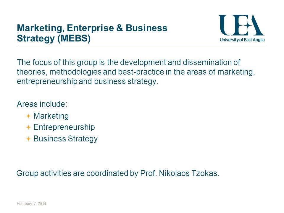 Marketing, Enterprise & Business Strategy (MEBS)