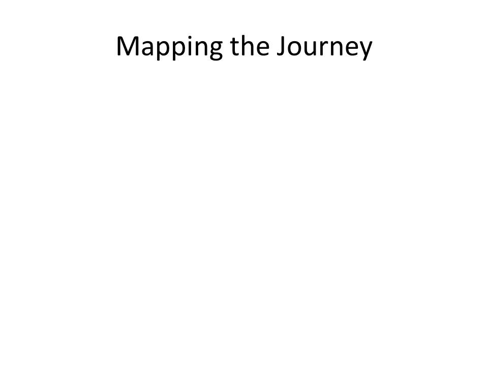Mapping the Journey