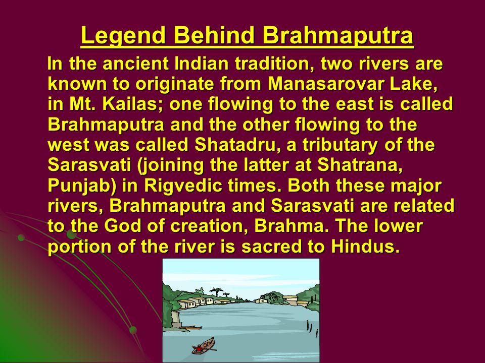 Legend Behind Brahmaputra