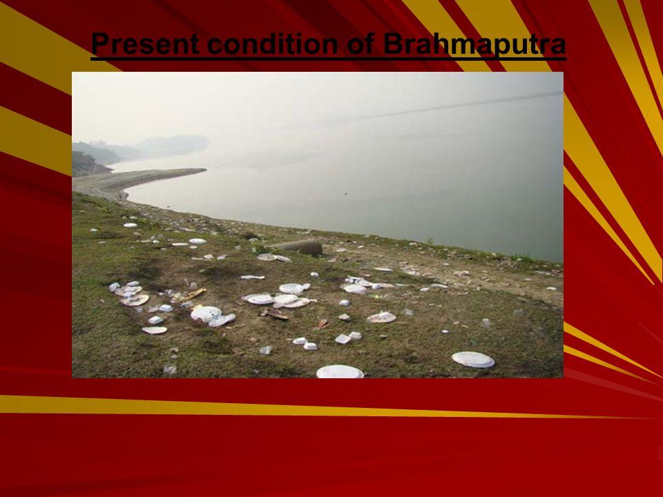 Present condition of Brahmaputra