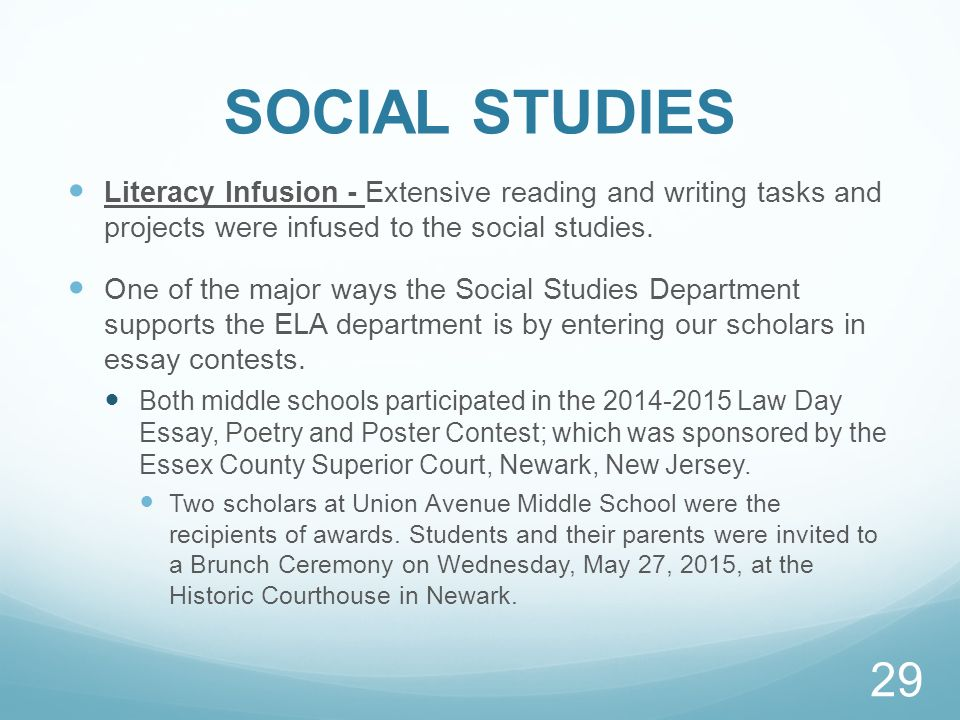 social studes essay Social studies topics include history, sociology, political science, psychology, economics, and geography find some great ideas for your next research project social studies topics include history, sociology, political science, psychology, economics, and.
