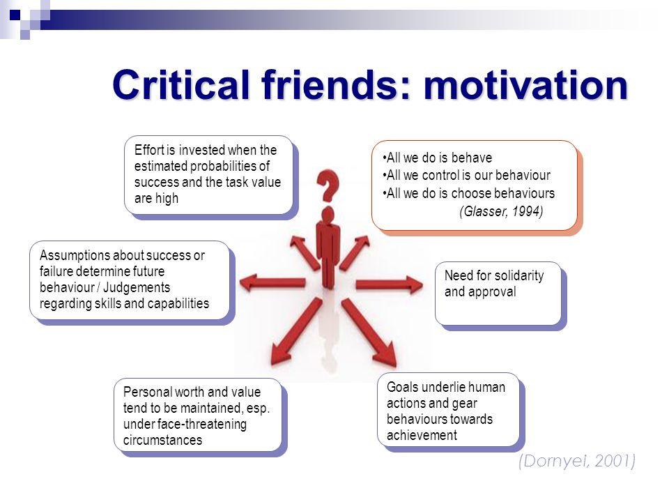 Critical friends: motivation