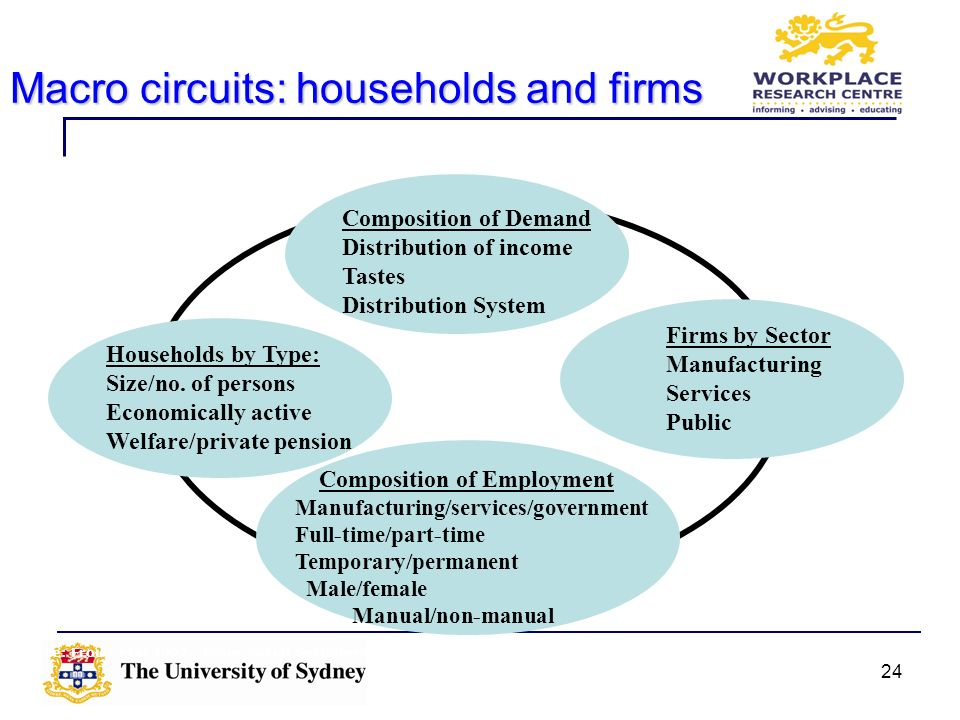 Macro circuits: households and firms