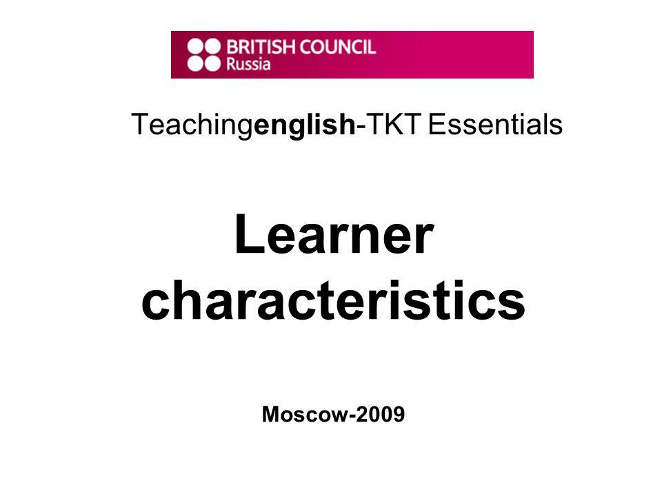 Teachingenglish-TKT Essentials