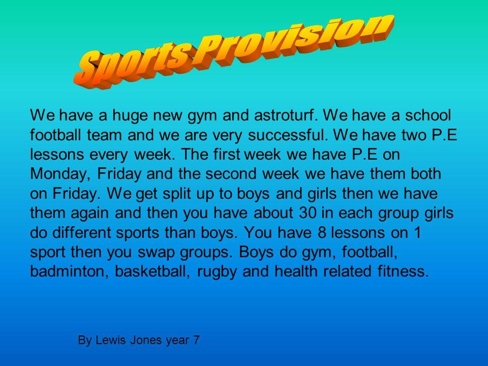 Sports Provision