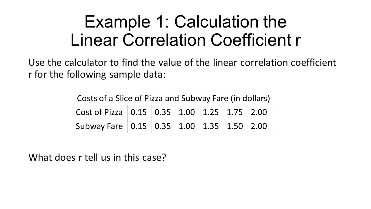 Correlation and Regression - ppt download