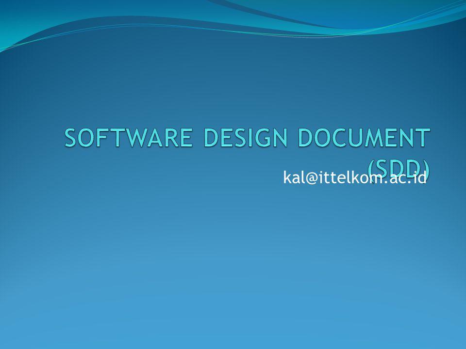 Software Design Document Sdd Ppt Video Online Download