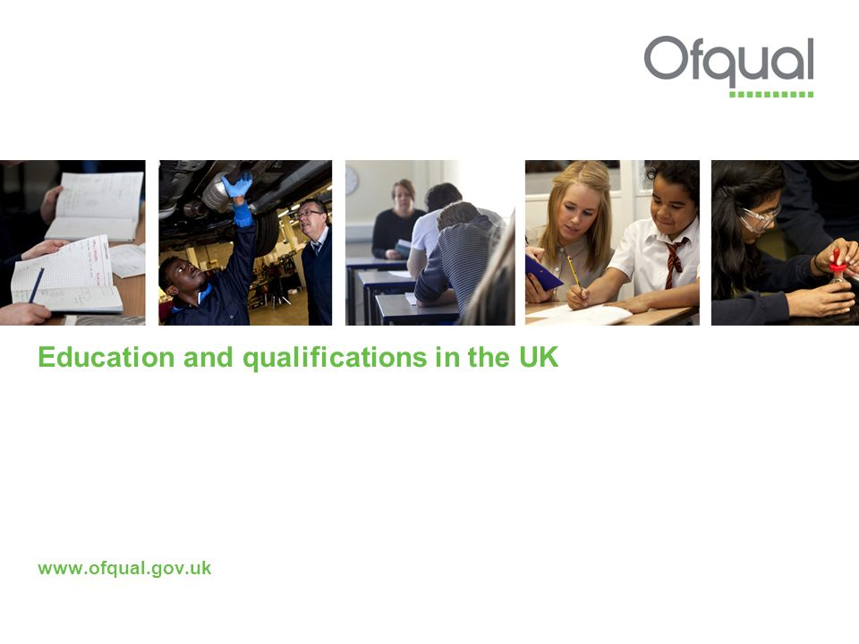 Education and qualifications in the UK