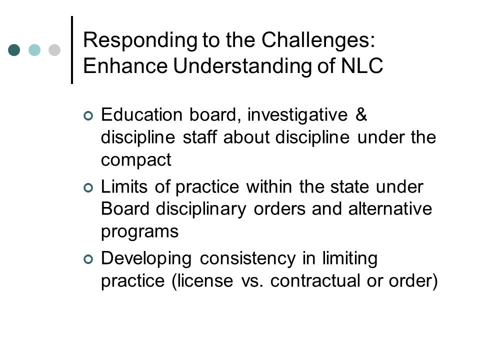 Responding to the Challenges: Enhance Understanding of NLC