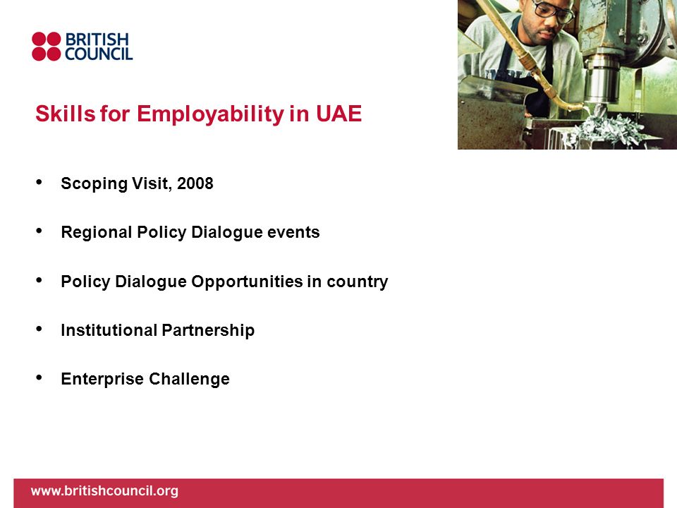 Skills for Employability in UAE