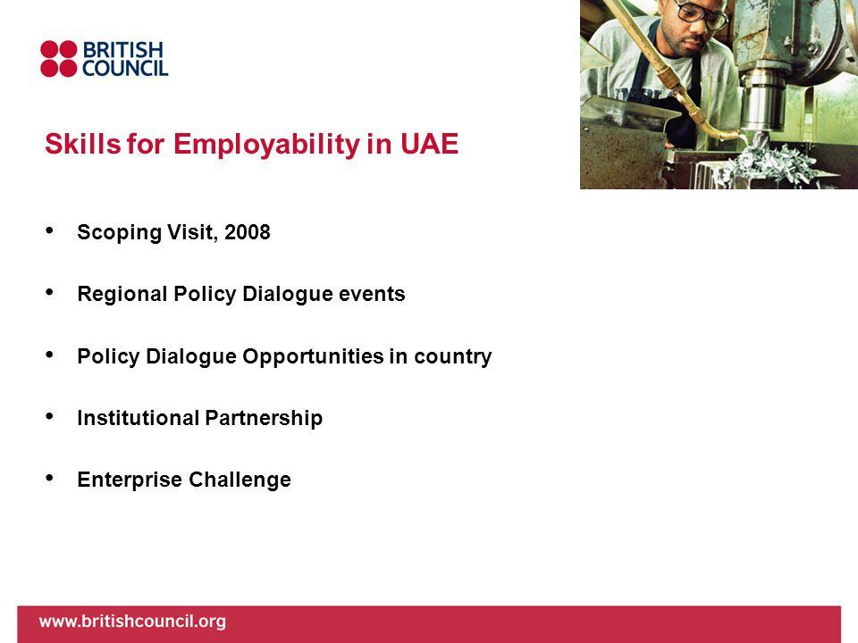 Skills for Employability in UAE