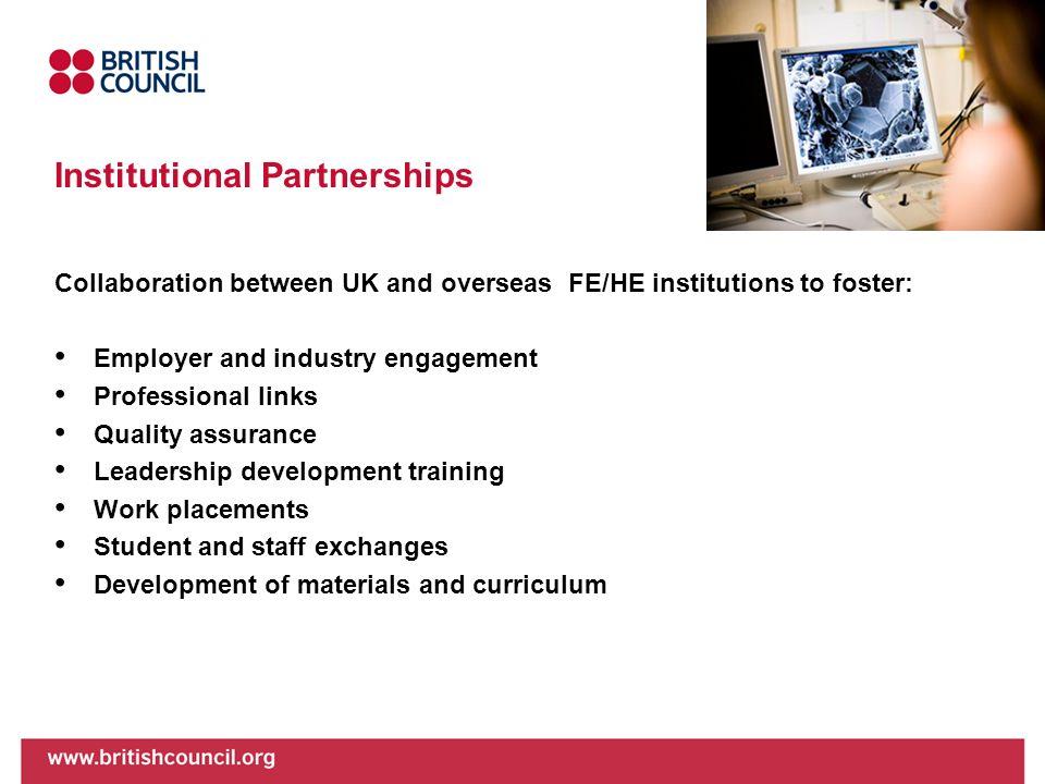 Institutional Partnerships