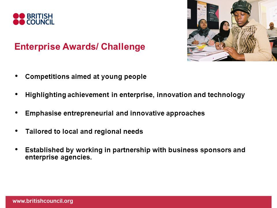 Enterprise Awards/ Challenge