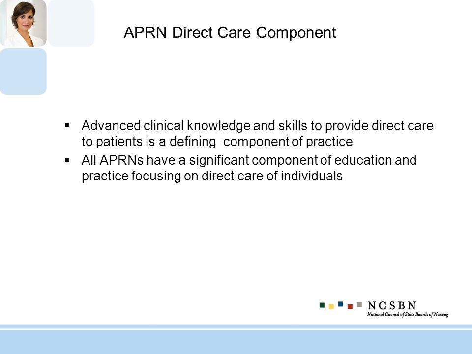APRN Direct Care Component