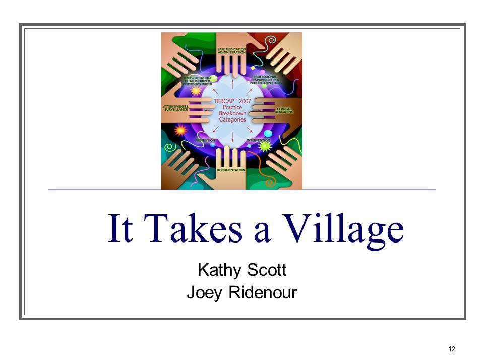 Kathy Scott Joey Ridenour