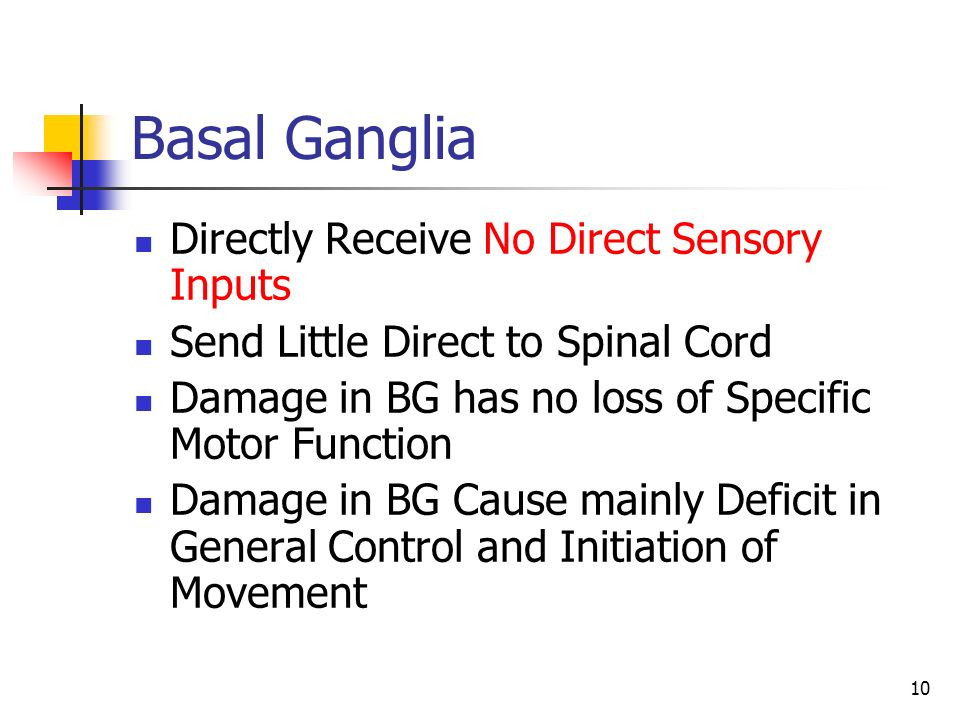 Supervisor dr towhidkhah designed by yashar sarbaz ppt for Loss of motor control