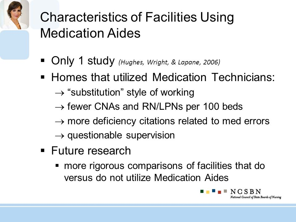 Characteristics of Facilities Using Medication Aides