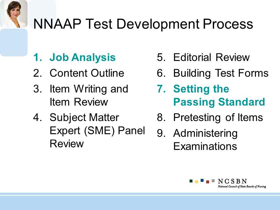 NNAAP Test Development Process