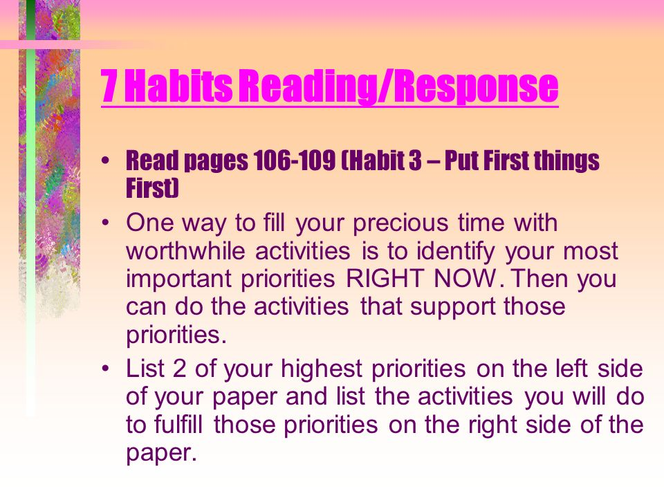 reading habits 3 essay - students' reading habits my hypotheses are: girls will be more likely to enjoy reading and read more boys will prefer sci-fi and horror genres girls will prefer teen drama and romance teachers will be who encourages students to read more research: the national curriculum's outlines for.