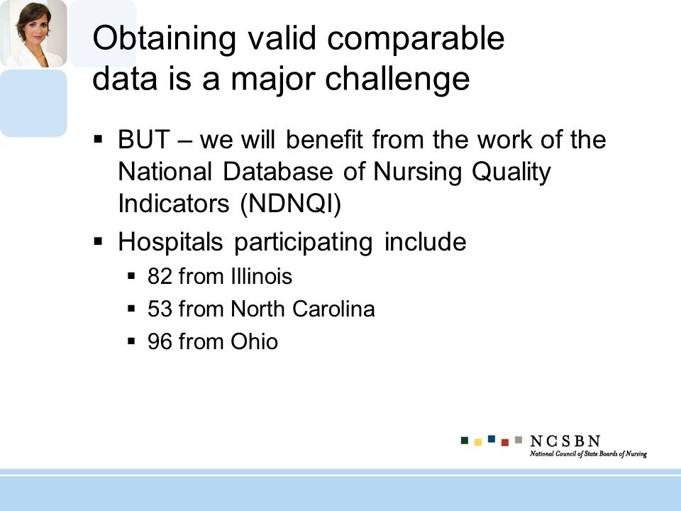Obtaining valid comparable data is a major challenge