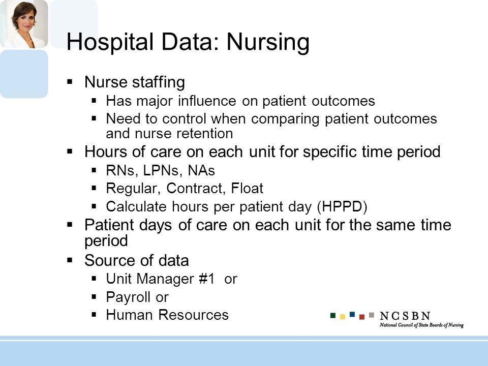 Hospital Data: Nursing