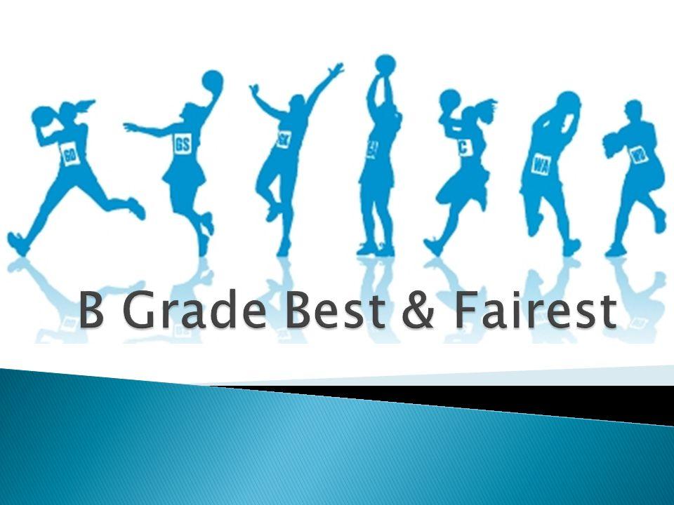 B Grade Best & Fairest