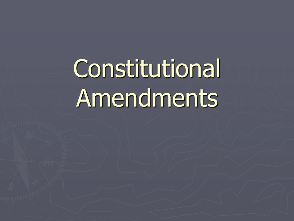 constitutional amendments Amendment 11 - authority of federal courts restricted (ratified february 7,  1795) the judicial power of the united states shall not be construed to extend to .