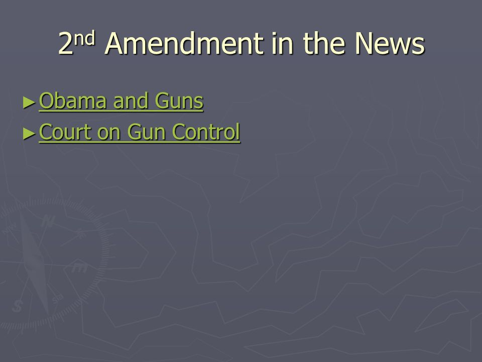2nd Amendment in the News