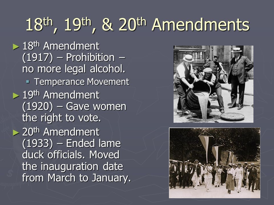 Constitutional Amendments - ppt - 116.3KB