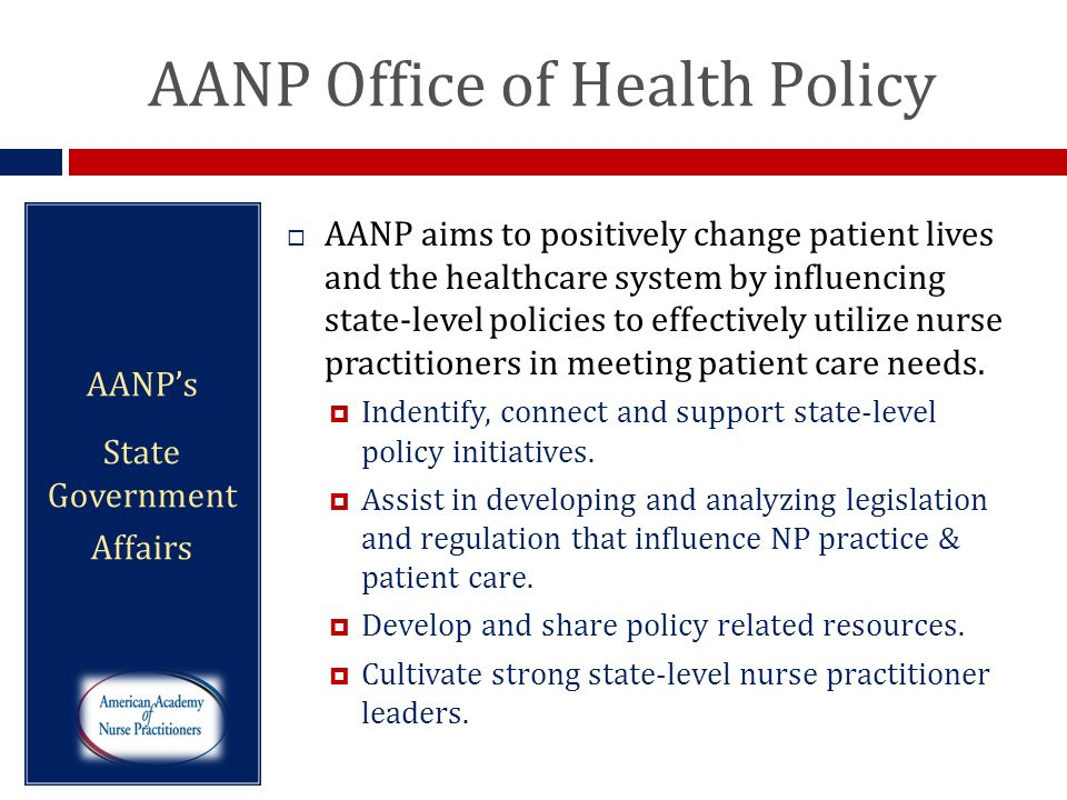 AANP Office of Health Policy