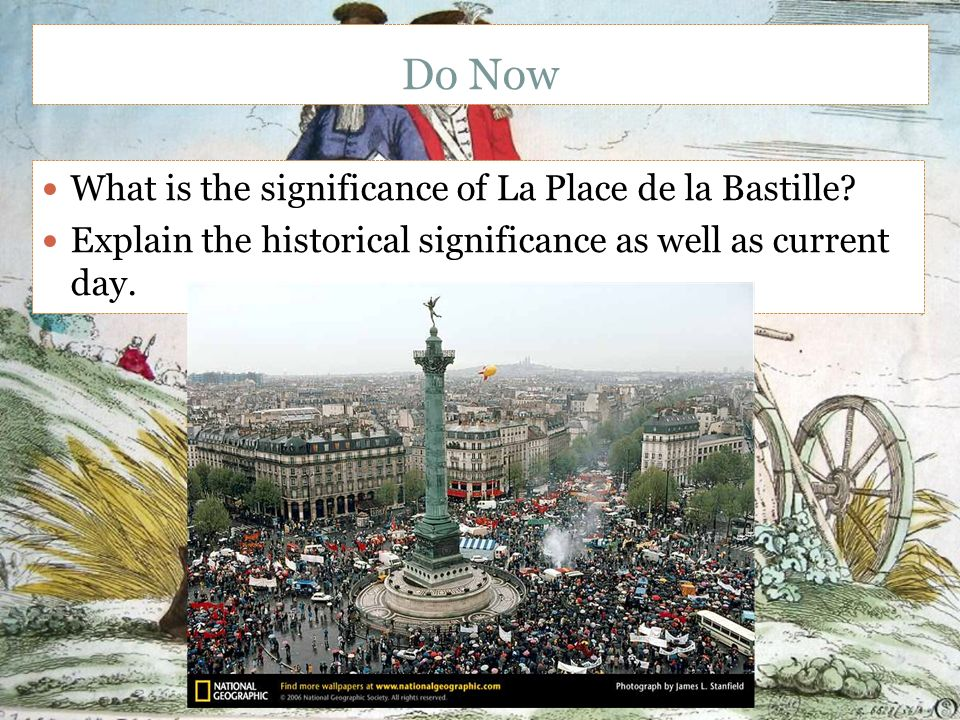 the historical importance of the storming of the bastille in france The title of the picture adds to the importance to the bastille as a symbol   reformation/ regeneration of the political, social, and economic system in france  the storming of the bastille was needed to sound the call to start this  regeneration  the bastille: a history of a symbol of despotism and freedom.