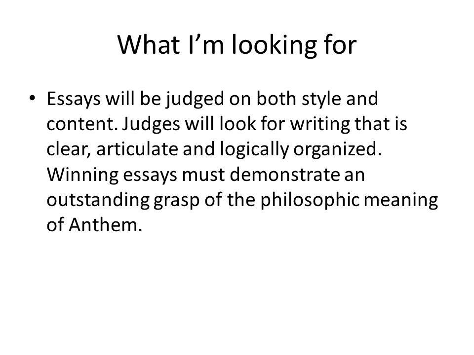anthem essay contest essays 04032018 anthem essay as one reads ayn rand's significant quotes from the story of anthem, there is  more about anthem essay contest paper  + popular essays.
