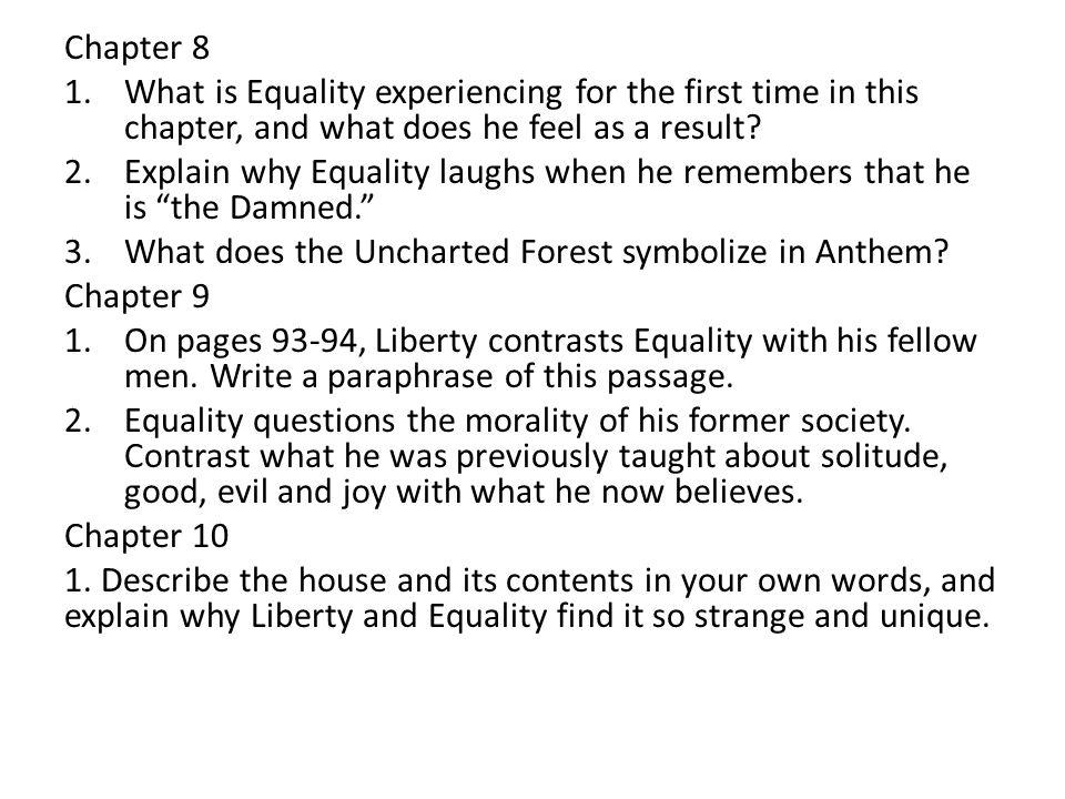 anthem essay questions 2011