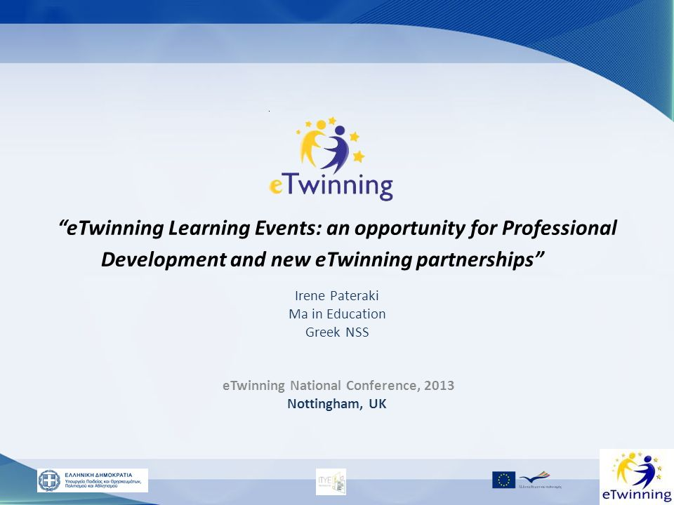 eTwinning National Conference, 2013